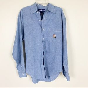Ralph Lauren | Button Down Denim Shirt
